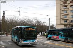 Irisbus Citélis 12 hybride – SEMITAG (Société d'Économie Mixte des Transports de l'Agglomération Grenobloise) / TAG (Transports de l'Agglomération Grenobloise) n°3502