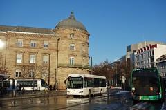 Irizar ie bus n°454  -  Strasbourg, CTS