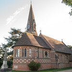 St Peter's Church, Ayot St Peter by John Fogarty