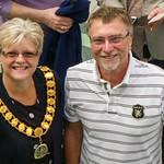 Lynne Sparks & Richard White, Howard Centre, WGC by John Fogarty