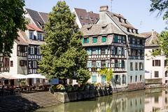 Canal de Navigation, Strasbourg, Alsace, FranceStrasbourg, Alsace, France