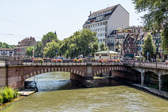 Pont National, Strasbourg, Alsace, France