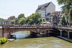 Pont National, Strasbourg, Alsace, France - Photo of Wolfisheim