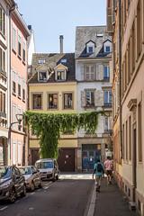 Rue des Païens, Strasbourg, Alsace, France