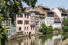 Canal de Navigation, Strasbourg, Alsace, France