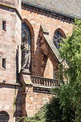 Église Catholique Saint-Pierre le-Vieux, Strasbourg, Alsace, France