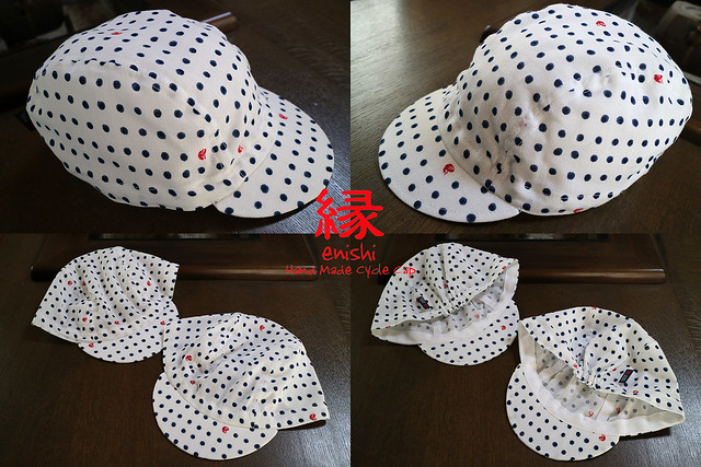 Photo:【 enishi cyclecap 藍染 豆絞り美鯛 】 By jun.skywalker (enishi hand made cyclecap)