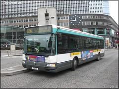 Renault Agora S – RATP (Régie Autonome des Transports Parisiens) / STIF (Syndicat des Transports d'Île-de-France) n°7348 - Photo of Paris