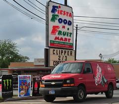 Ads at Fiesta Food N Fruit Mart
