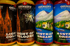 Ornery Light of Cologne Kolsch Ale and Austrian Dreams Vienna Style Lager - Fairfax VA