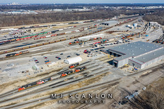 Multiple Engines | CN Harrison Yard