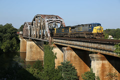 CSX on Occoquan Bridge 88