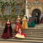 Henry V111 Queens at Hatfield House by Rachel Dunsdon