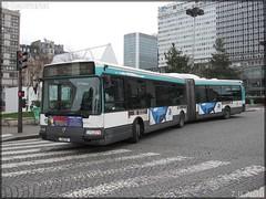 Renault Agora L – RATP (Régie Autonome des Transports Parisiens) / STIF (Syndicat des Transports d'Île-de-France) n°1612