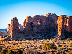 Giant Rock Monster Arches National Park! Winter Fuji GFX100 Utah Fine Art Landscape Photography! Elliot McGucken Fine Art American West Landscape Nature Photography! Master Medium Format Fine Art Photographer! Fujifilm GFX 100 & Fujifilm FUJINON GF Lens