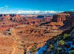 Grand View Canyonlands National Park Winter Fuji GFX100 Utah Fine Art Landscape Photography! Elliot McGucken Fine Art American West Landscape Nature Photography! Master Medium Format Fine Art Photographer! Fujifilm GFX 100 & Fujifilm FUJINON GF  Lens