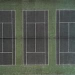 Tennis Triptych