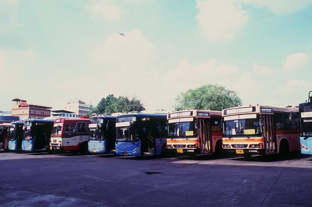Bang Khen Bus Depot, Bangkok