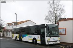 Iveco Bus Crossway LE – Voyages Lefort / Aléop – Pays de la Loire (ex Lila, Lignes Intérieures de Loire-Atlantique) n°165