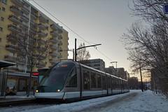 AdTranz Eurotram n°1001  -  Strasbourg, CTS