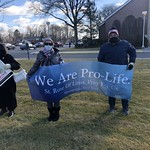 Prayer Witness at PP for March for Life