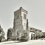 St Etheldredas Old Hatfield by Dave Minty