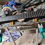 guitares non montées & plaques