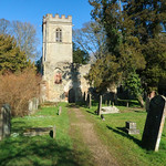 Old Church, Ayot St Lawrence by Stafford Steed