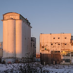 Shredded Wheat factory 1 by Sheila Clementson