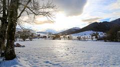 Plateau de la Técouère sous la neige - Le Benou