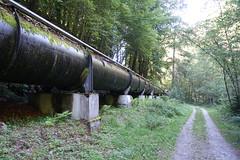 Pipeline de la Centrale Hydroélectrique du Fayet @ Saint-Gervais-les-Bains