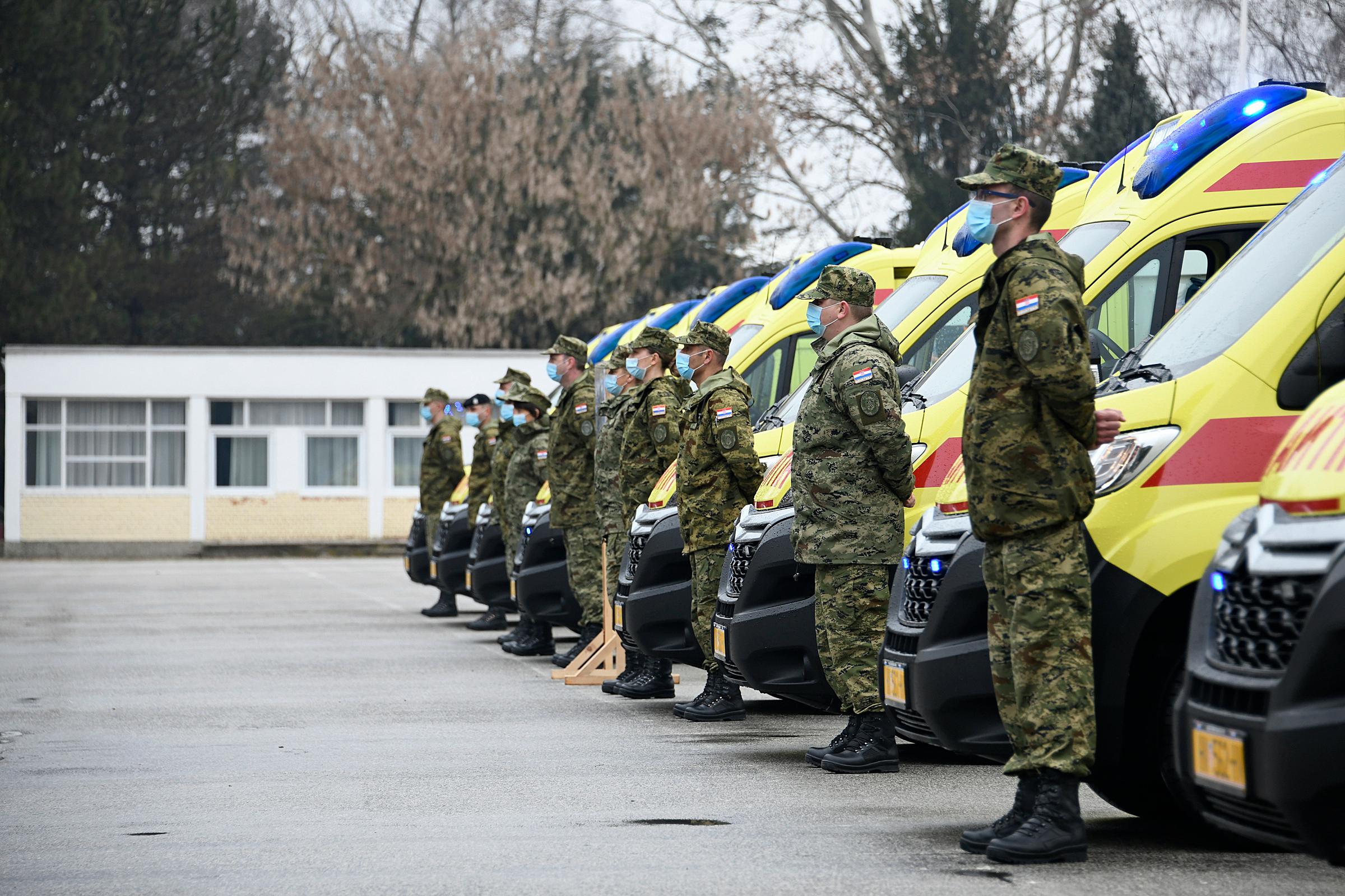 Održana prezentacija novonabavljenih sanitetskih vozila za potrebe Hrvatske vojske