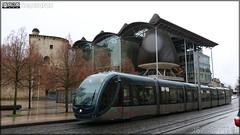 Alstom Citadis – Keolis Bordeaux Métropole / TBM (Transports Bordeaux Métropole) n°1302