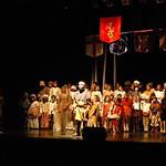 Le spectacle de la chorale Daniel-JeanRichard : Excalibur