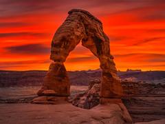 Delicate Arch Arches National Park Winter Sunset Slickrock Fuji GFX100 Utah Fine Art Landscape Photography! Elliot McGucken Fine Art American West Landscape Nature Photography! Master Medium Format Fine Art! Fujifilm GFX 100 & Fujinon FUJIFILM GF Lens!!