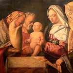 Giovanni Bellini  (Venezia, 1427 o 1430 circa – Venezia, 26 novembre 1516) - Circoncisione di Gesù (1500 ca.) - Galleria Doria Pamphilj, Roma - https://www.flickr.com/people/94185526@N04/