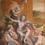 Antonio Allegri detto il Correggio (Correggio, c. 1489 – Correggio, 5 marzo 1534)  - Allegoria della Virtù (1525) - tempera su tela, 149,5 x 85,5 cm - Galleria Doria Pamphilj, Roma - https://www.flickr.com/people/94185526@N04/