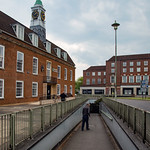 Council Offices and Underpass by rachel dunsdon