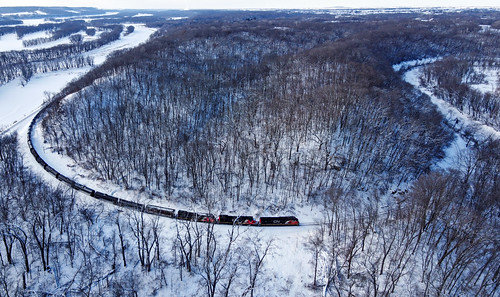 Horseshoe curve in Illinois