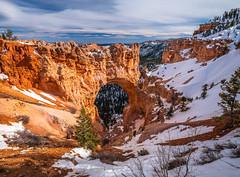 Natural Bridge Bryce Canyon National Park Winter Snow Fuji GFX100 Utah Fine Art Landscape Photography! Elliot McGucken Fine Art American West Landscape Nature Photography! Master Medium Format Fine Art Photos! Fujifilm GFX 100 & Fujifilm FUJINON GF Lens