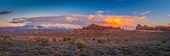 Panorama View Arches National Park  Panorama  Winter Fuji GFX100 Utah Fine Art Landscape Photography! Elliot McGucken Fine Art American West Landscape Nature Photography! Master Medium Format Fine Art Fujifilm GFX 100 FUJIFILM GF 32-64mm f/4 R LM WR Lens
