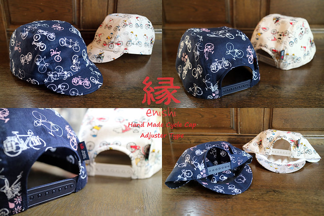 Photo:enishi cyclecap adjuster type By jun.skywalker (enishi hand made cyclecap)