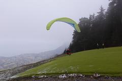 Parapente @ Aire de décollage de Planfait