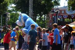 Someone won a blue tiger!