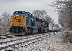 CSX 4540 (SD70MAC) Cox Street Memphis, Tennessee