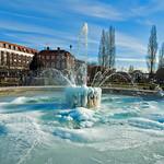 Frozen Fountain, WGC by Rachel Dunsdon