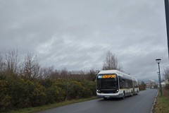 Bolloré Bluebus 18 n°500  -  Rennes, STAR