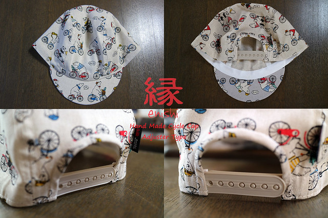 Photo:【 enishi cyclecap adjuster type / BEAR RIDE OFF-WHITE 】 By jun.skywalker (enishi hand made cyclecap)