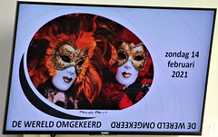 DE WERELD OMGEKEERD. .