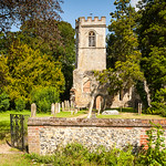Gateway to the old church, Ayot St Lawrence by Iain Houston